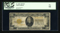 Small Size:Gold Certificates, Fr. 2402 $20 1928 Gold Certificate. PCGS Fine 12.. ...