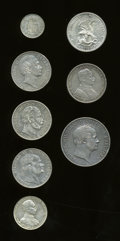 German Lots, German Lots: Mixed eight-piece lot as follows:... (Total: 8 coins)