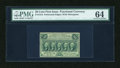 Fractional Currency:First Issue, Fr. 1310 50¢ First Issue PMG Choice Uncirculated 64....