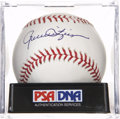 Autographs:Baseballs, Rollie Fingers Single Signed Baseball Gem Mint 10....
