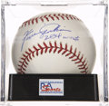 "Autographs:Baseballs, Ferguson Jenkins ""284 Wins"" Single Signed Baseball, PSA Mint 9. ..."