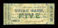 Obsoletes By State:Louisiana, New Orleans, LA- D. M. Hildreth & Co. $5 March 25, 1862 . ...