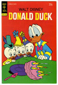 Bronze Age (1970-1979):Cartoon Character, Donald Duck #154 Carl Barks Signed (Gold Key, 1974) Condition:VF/NM....