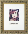 Music Memorabilia:Autographs and Signed Items, Tori Amos Autographed Photo....