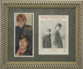Music Memorabilia:Autographs and Signed Items, Peter and Gordon Autographed Photo....