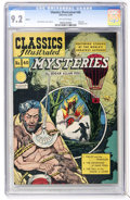 Golden Age (1938-1955):Classics Illustrated, Classics Illustrated #40 Mysteries HRN 62 (Gilberton, 1949) CGC NM- 9.2 Off-white pages....