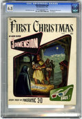 Golden Age (1938-1955):Religious, The First Christmas #nn (Fiction House, 1953) CGC FN+ 6.5 Cream tooff-white pages....