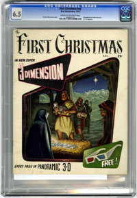 The First Christmas #nn (Fiction House, 1953) CGC FN+ 6.5 Cream to off-white pages