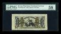 Fractional Currency:Third Issue, Fr. 1343SP 50c Third Issue Justice PMG Choice About Unc 58....