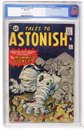 Silver Age (1956-1969):Science Fiction, Tales to Astonish #31 (Marvel, 1962) CGC VF- 7.5 Off-white to whitepages....