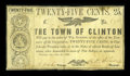 Obsoletes By State:Louisiana, Clinton, LA- Town of Clinton 25¢ Dec. 31, 1361 [sic] . ...