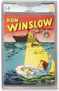 Golden Age (1938-1955):Adventure, Four Color (Series One) #2 Don Winslow (Dell, 1939) CGC Qualified GD/VG 3.0 Off-white pages....