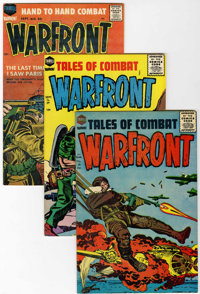 Warfront File Copy Group (Harvey, 1951-67) Condition: Average VF/NM.... (Total: 31 Comic Books)
