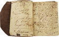 Autographs:Military Figures, American Revolution: The Extraordinary Manuscript Diary of Massachusetts Soldier David How (1758-1842), kept in the field, w...
