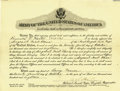 Autographs:Military Figures, George S. Patton Document Signed....