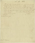 Autographs:Non-American, Frederick the Great [King Frederick II of Prussia] Document Signed...