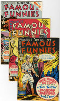 Golden Age (1938-1955):Miscellaneous, Famous Funnies File Copy Group (Eastern Color, 1952-53) Condition:Average VF/NM.... (Total: 4 Comic Books)