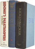Autographs:Military Figures, [World War II] Group of Three Signed Books.... (Total: 3 Items)