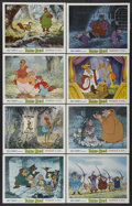 "Movie Posters:Animated, Robin Hood (Buena Vista, 1973). Lobby Cards (8) (11"" X 14"").Animated.... (Total: 8 Items)"