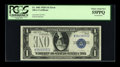 Error Notes:Inverted Reverses, Fr. 1601 $1 1928A Silver Certificate. PCGS Choice About New 55PPQ.....