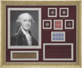Movie/TV Memorabilia:Memorabilia, Glenn Ford Owned George Washington Display....