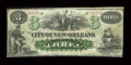 Obsoletes By State:Louisiana, New Orleans, LA- City of New Orleans $3 Oct. 24, 1862. ...