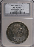 Coins of Hawaii: , 1883 $1 Hawaii Dollar--Improperly Cleaned--NCS. AU Details. NGCCensus: (20/143). PCGS Population (49/173). Mintage: 500,00...