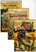 Golden Age (1938-1955):Science Fiction, Charlton Golden Age Mystery Comics Group (Charlton, 1950s)Condition: Average PR.... (Total: 11 Comic Books)