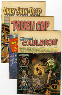 EC Golden Age Comics Group (EC, 1950s) Condition: Average PR.... (Total: 17 Comic Books)