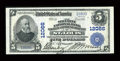 National Bank Notes:Missouri, Saint Louis, MO - $5 1902 Plain Back Fr. 608 The Security NBSavings & TC Ch. # 12066. ...