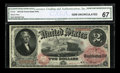 Large Size:Legal Tender Notes, Fr. 46 $2 1875 Legal Tender CGA Gem Uncirculated 67....