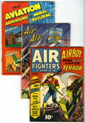 Golden Age (1938-1955):War, Miscellaneous Golden Age Air War Group (Various Publishers, 1940s).... (Total: 3 Comic Books)