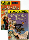 Golden Age (1938-1955):Classics Illustrated, Classic Comics #12 and Classics Illustrated #52 Original EditionGroup (Gilberton, 1943-48).... (Total: 2 Comic Books)