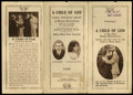 "Movie Posters:Drama, A Child of God (Mutual, 1915). Herald (4"" X 8""). Drama...."