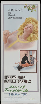 "Loss of Innocence (Columbia, 1961). Insert (14"" X 36""). Romance"