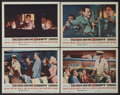 "Movie Posters:Adventure, The High and the Mighty (Warner Brothers, 1954). Lobby Cards (4)(11"" X 14""). Adventure.... (Total: 4 Items)"
