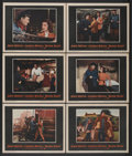 "Movie Posters:Action, Blood Alley (Warner Brothers, 1955). Lobby Cards (6) (11"" X 14"").Action.... (Total: 6 Items)"