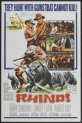 "Movie Posters:Adventure, Rhino! (MGM, 1964). One Sheets (2) (27"" X 41"") and Lobby Card Setof 8 (11"" X 14""). Adventure.... (Total: 10 Items)"