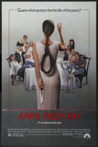"""April Fool's Day (Paramount, 1986). One Sheet (27"""" X 41""""). Horror"""