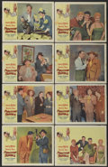 """Movie Posters:Comedy, Fighting Trouble (Allied Artists, 1956). Lobby Card Set of 8 (11"""" X14""""). Comedy.. ... (Total: 8 Items)"""