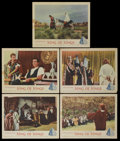"""Movie Posters:Historical Drama, King of Kings (MGM, 1961). Lobby Cards (5) (11"""" X 14""""). HistoricalDrama.... (Total: 5 Items)"""