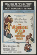 """Movie Posters:Fantasy, The Wonderful World of the Brothers Grimm (MGM, 1962). One Sheet(27"""" X 41""""). Fantasy...."""