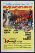 "Movie Posters:Adventure, Khartoum (United Artists, 1966). One Sheet (27"" X 41"") Style A.Adventure...."