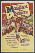 """Movie Posters:Adventure, Morgan the Pirate (MGM, 1961). One Sheet (27"""" X 41"""") and Lobby CardSet of 8 (11"""" X 14""""). Adventure.... (Total: 9 Items)"""