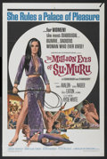"""Movie Posters:Action, The Million Eyes of Su-Muru (American International, 1967). One Sheet (27"""" X 41""""). Action...."""