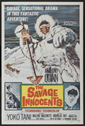 "Movie Posters:Adventure, The Savage Innocents (Paramount, 1960). One Sheet (27"" X 41"").Adventure...."