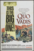 "Movie Posters:Historical Drama, Quo Vadis (MGM, R-1964). One Sheet (27"" X 41""). HistoricalDrama...."