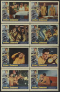 "Movie Posters:Science Fiction, The Atomic Submarine (Allied Artists, 1959). Lobby Card Set of 8(11"" X 14""). Science Fiction.... (Total: 8 Items)"