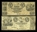 Obsoletes By State:Louisiana, New Orleans, LA- Atchafalaya Rail-Road & Banking Co. $5, $10 May 1, 1838 G2, G4. ... (Total: 2 notes)