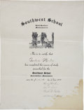 Autographs:Inventors, Henry Ford Signed Document. ...